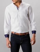 Tailored Fit Contrast Premium Oxford Shirt Button Down